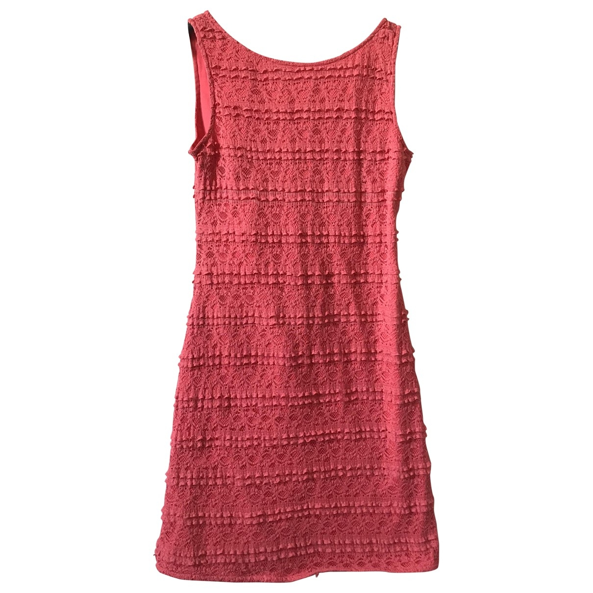 Patrizia Pepe \N Pink Cotton - elasthane dress for Women 38 IT