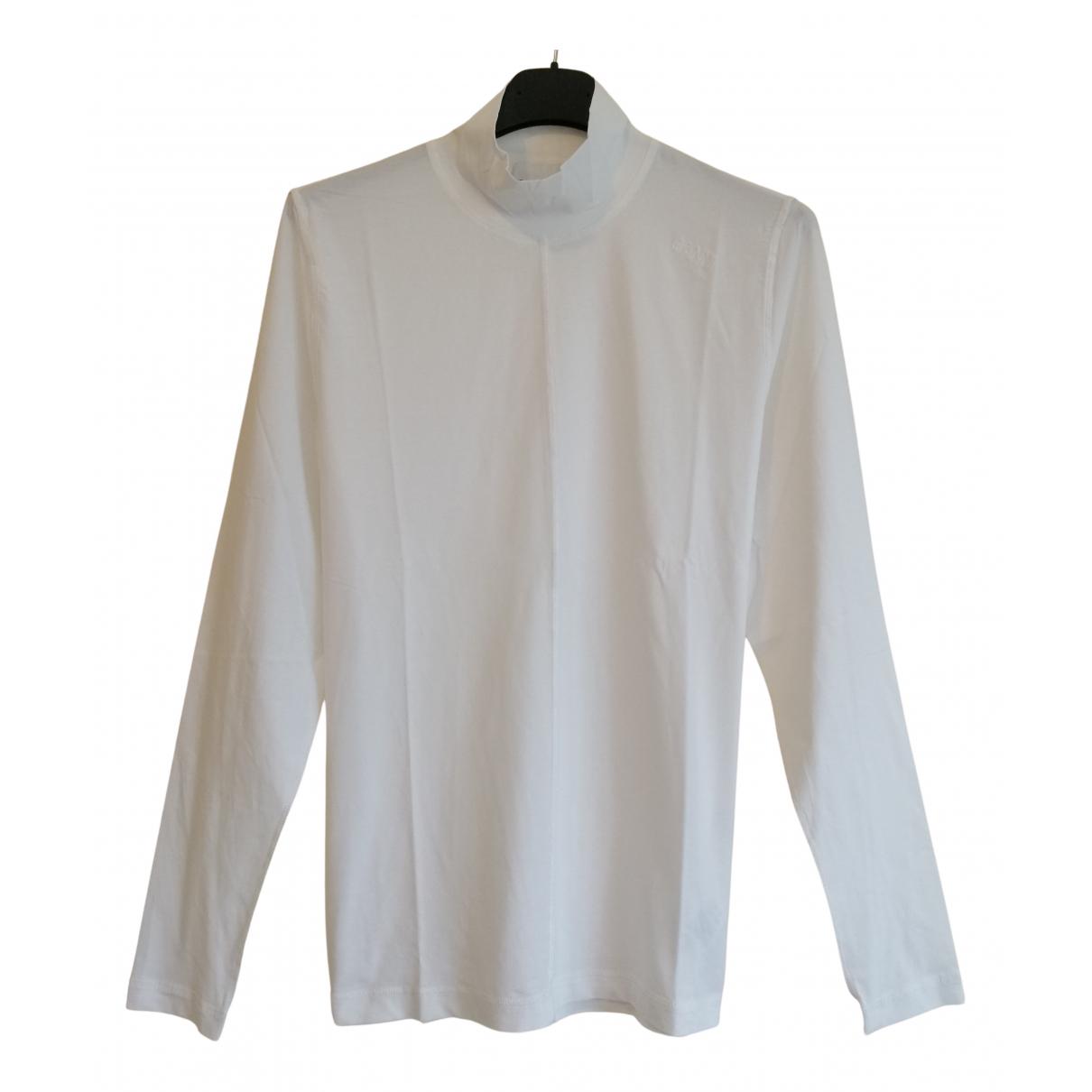 Ganni - Pull Spring Summer 2020 pour femme en coton - blanc