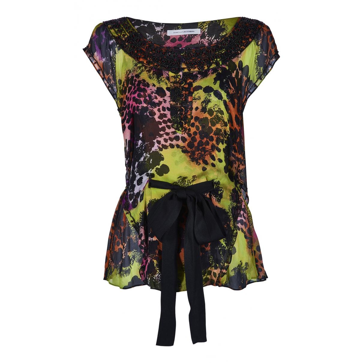 Diane Von Furstenberg N Multicolour Silk  top for Women 8 UK