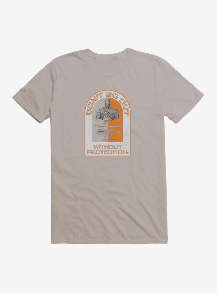 DC Comics Arrow Stay Protected Plaque T-Shirt
