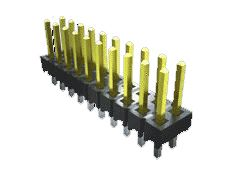 Samtec , TSW, 9 Way, 3 Row, Straight PCB Header (1000)