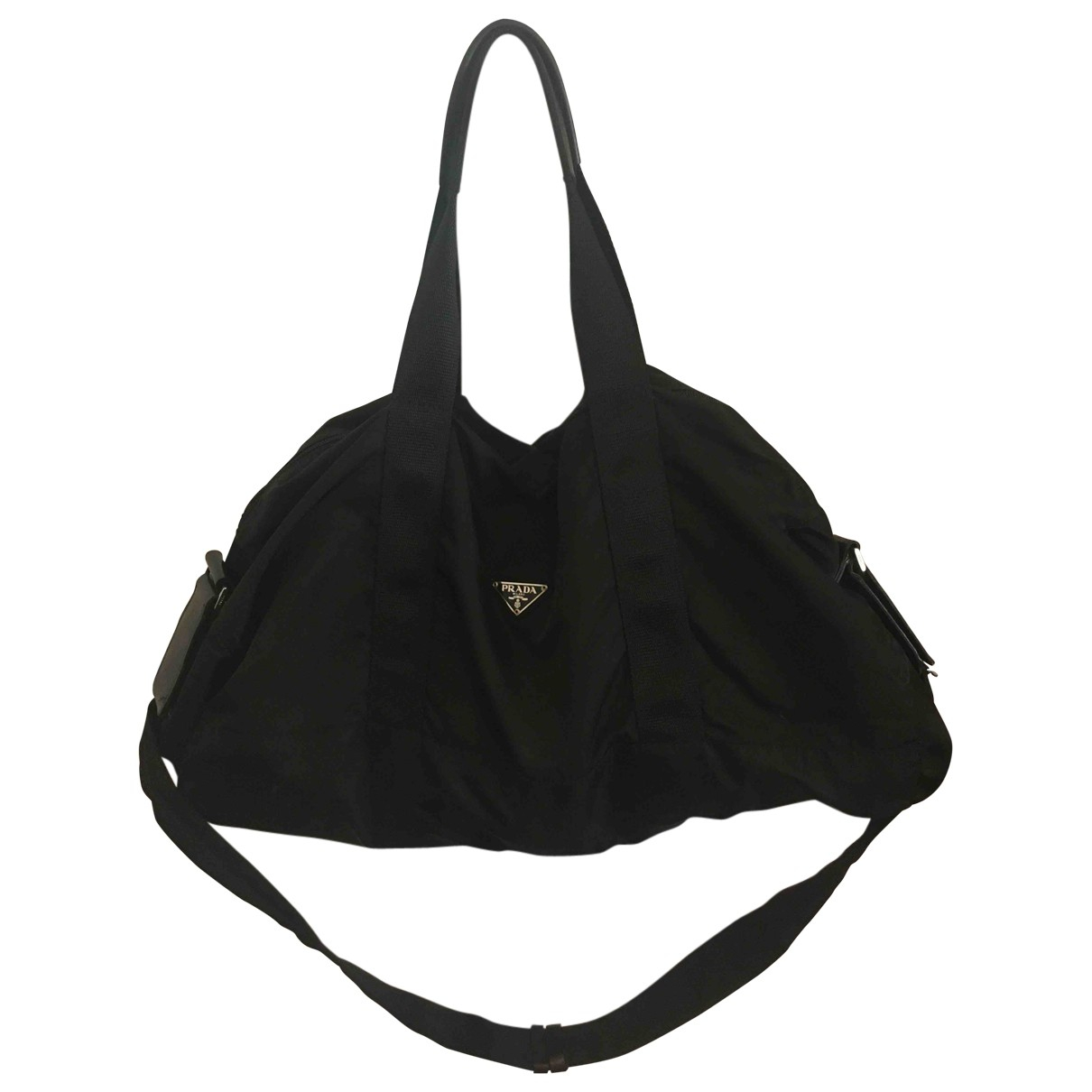 Prada N Black Cloth bag for Men N