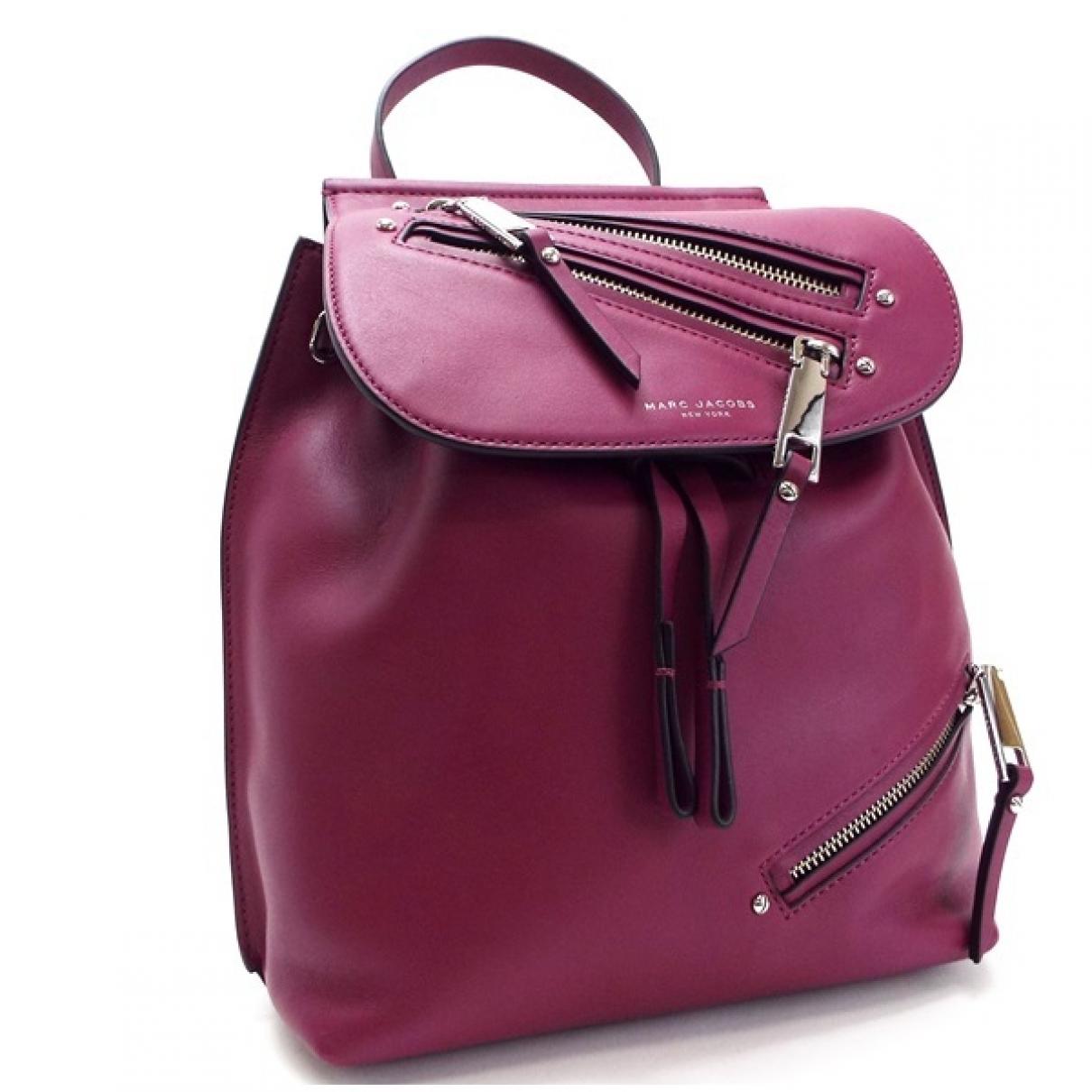 Marc Jacobs - Sac a dos   pour femme en cuir - violet