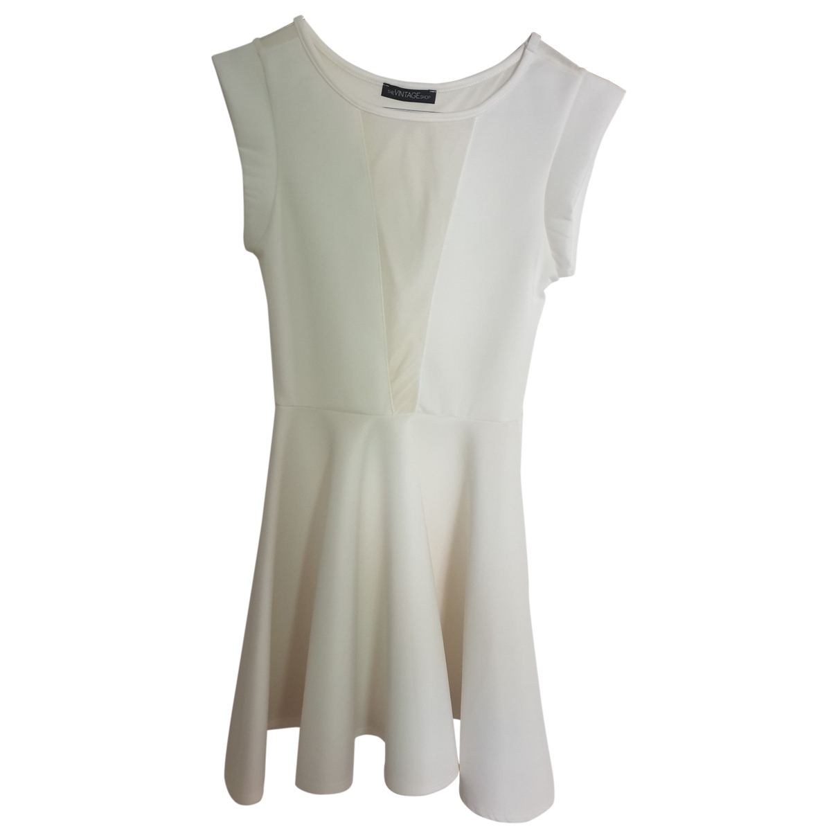 Non Signé / Unsigned \N White dress for Women 40 IT