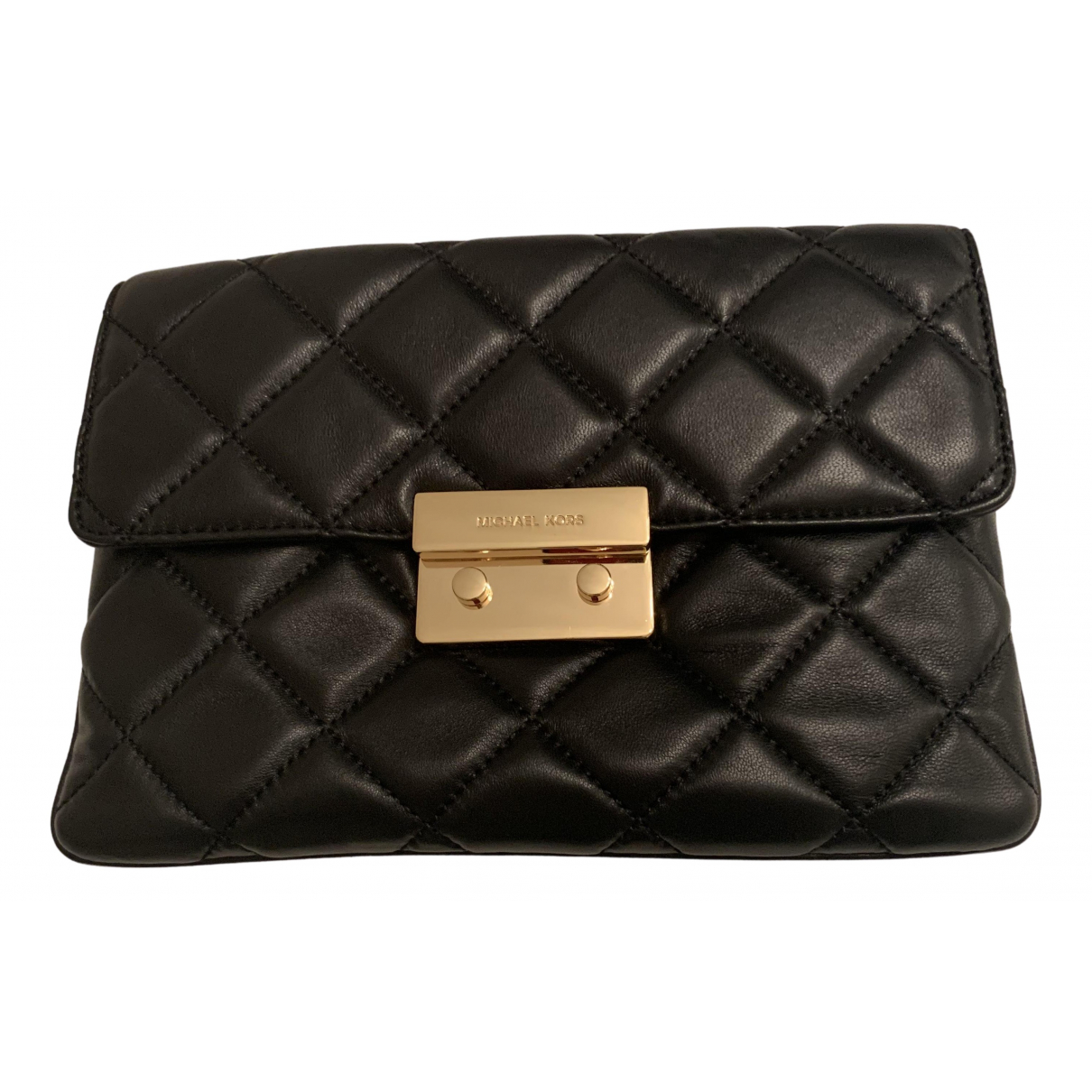 Michael Kors N Black Leather Clutch bag for Women N