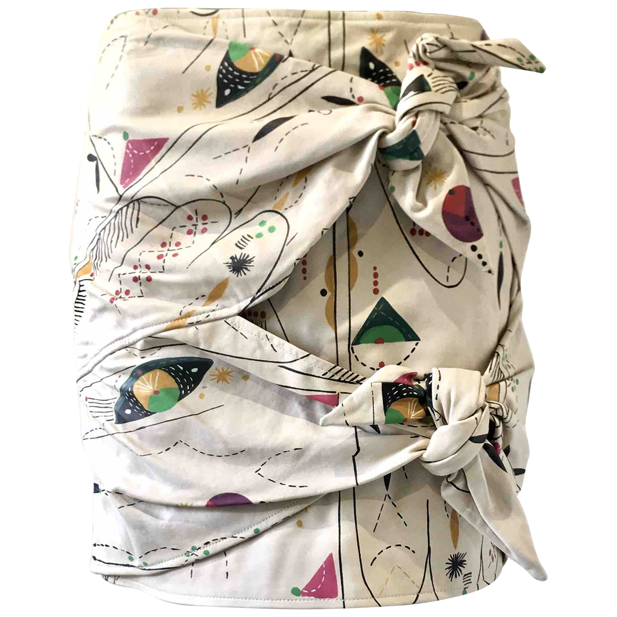 Mini falda de Cuero Isabel Marant Etoile