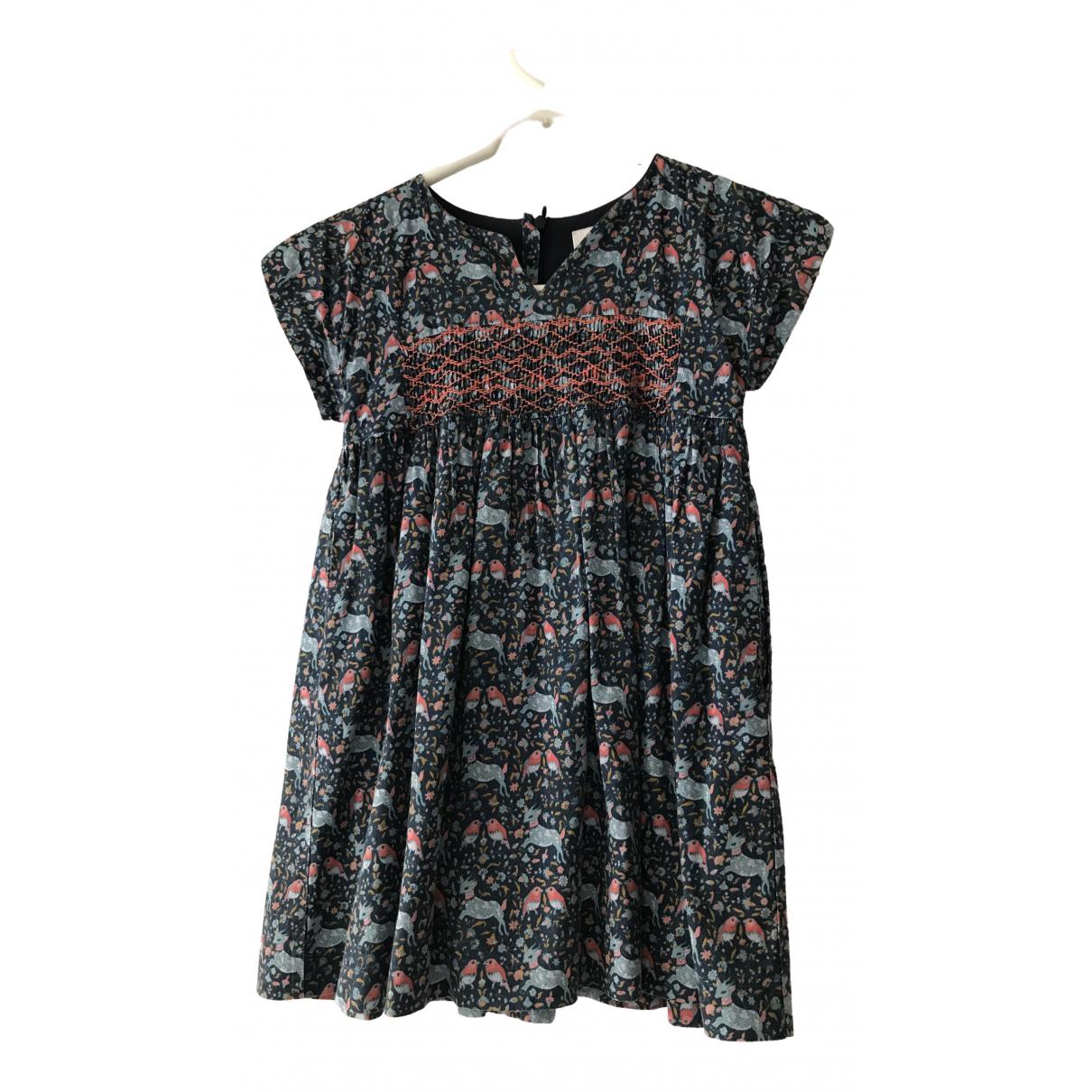 Cyrillus \N Kleid in  Blau Baumwolle