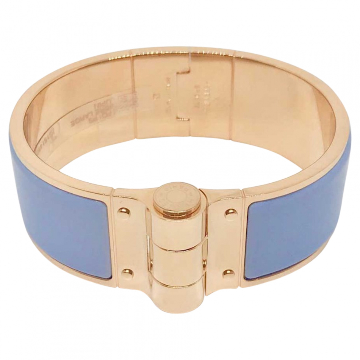 Hermes Clic H Armband in  Gold Metall