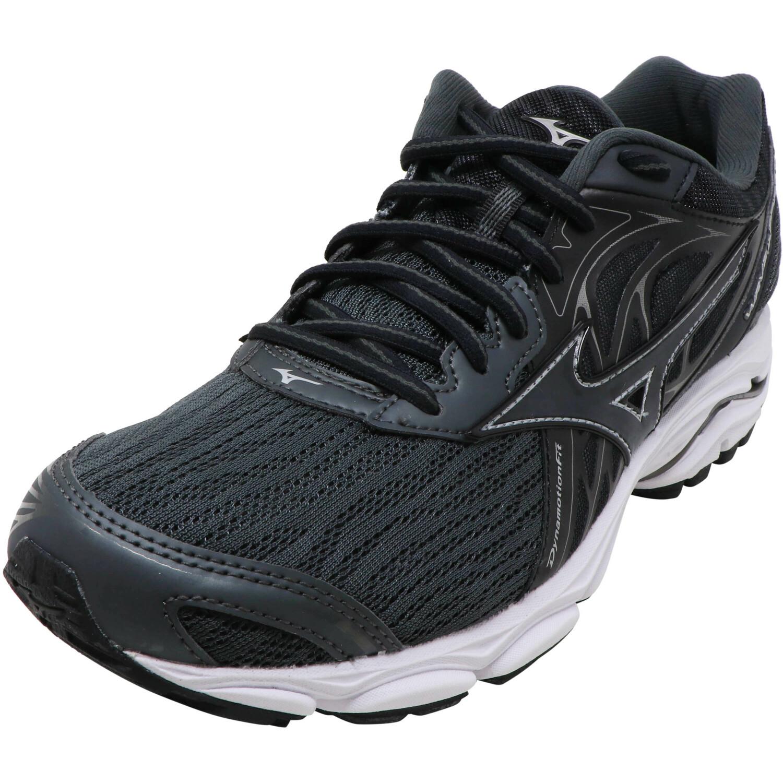 Mizuno Men's Wave Inspire 14 Dark Shadow / Black Grey Ankle-High Running - 7M