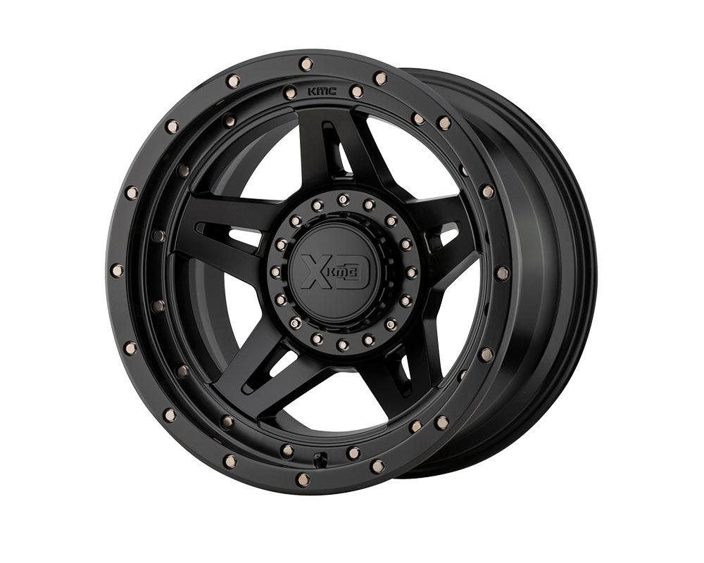 XD Series XD13821035718N XD138 Brute Wheel 20x10 5x5x127/5x139.7 -18mm Satin Black