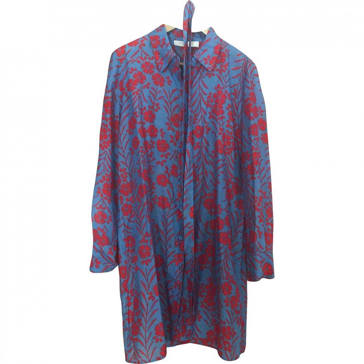 Diane Von Furstenberg \N Kleid in  Rosa Seide