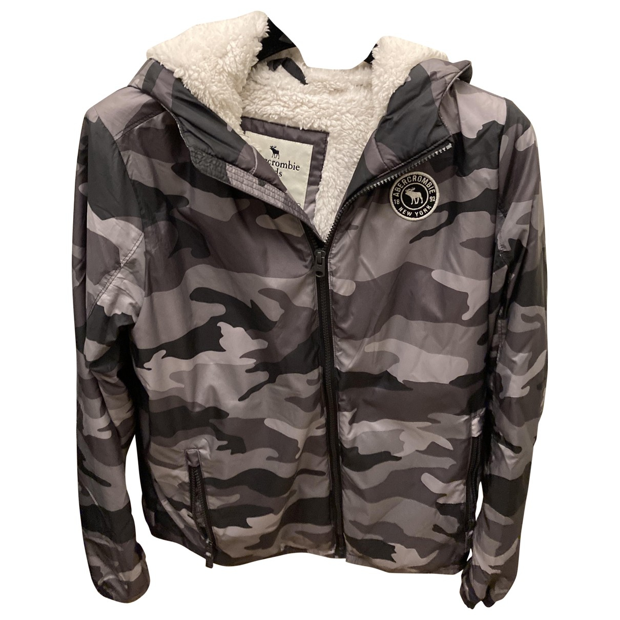 Abercrombie & Fitch \N Anthracite jacket & coat for Kids 14 years - S FR