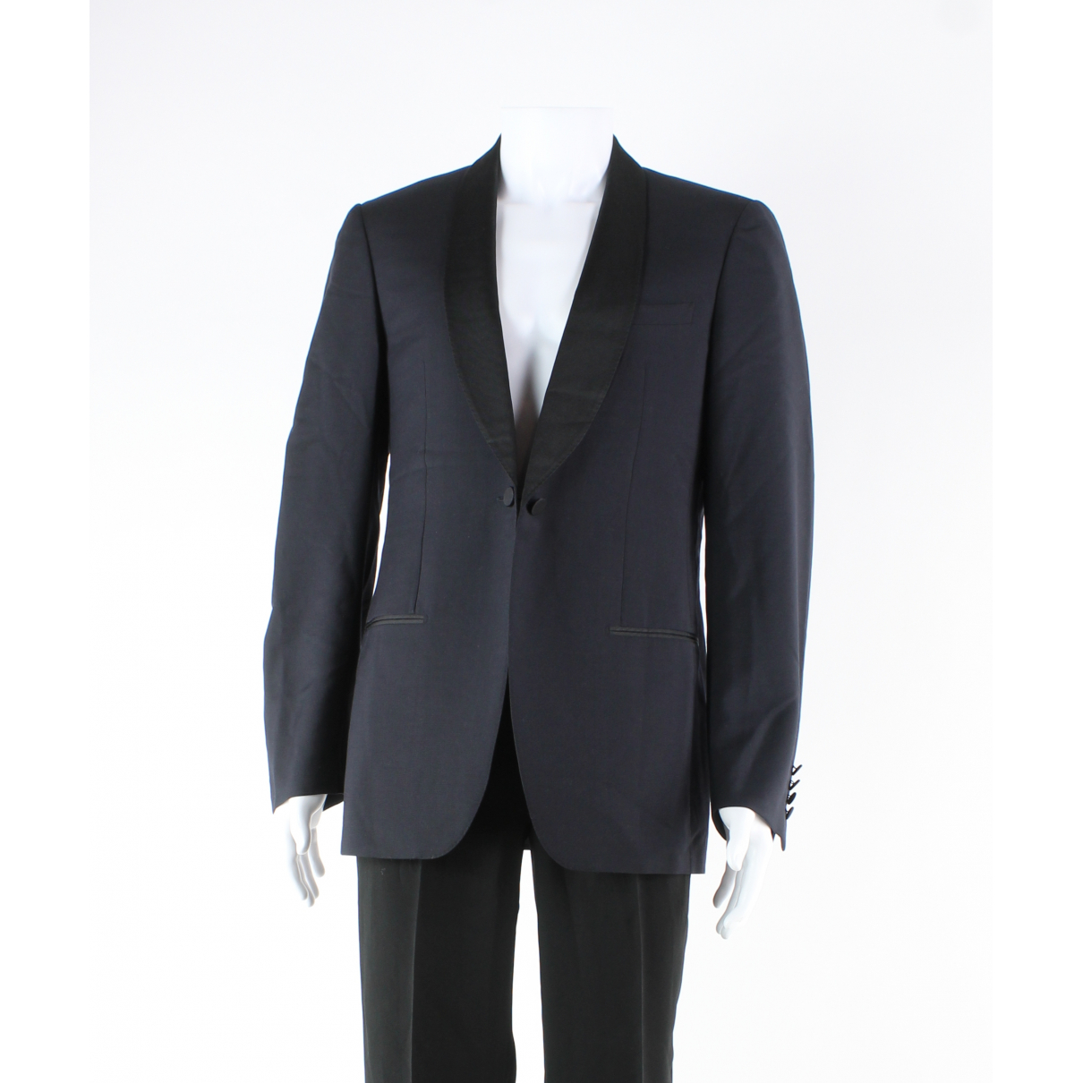 Lanvin N Navy Wool jacket  for Men 52 FR