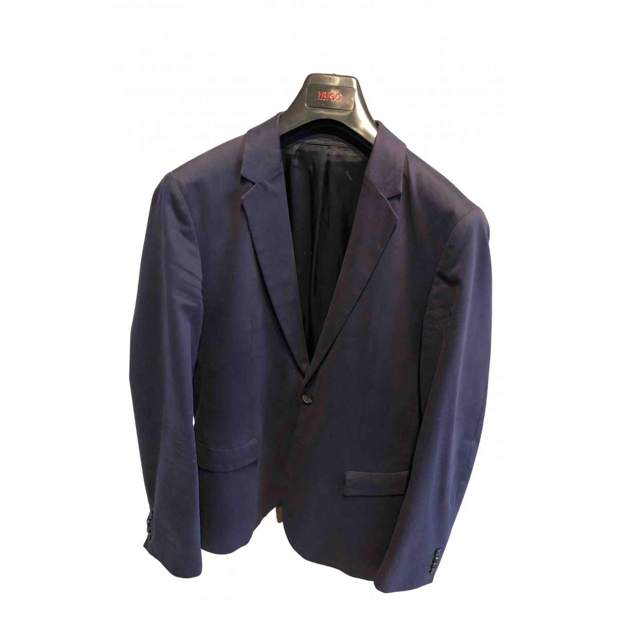 Hugo Boss N Blue Cotton jacket  for Men 48 FR
