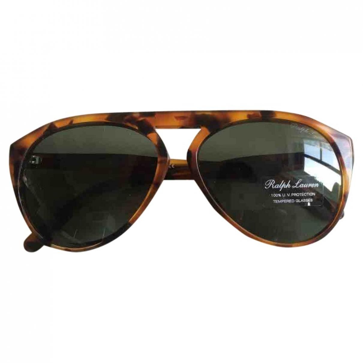Ralph Lauren \N Sonnenbrillen in  Braun Kunststoff