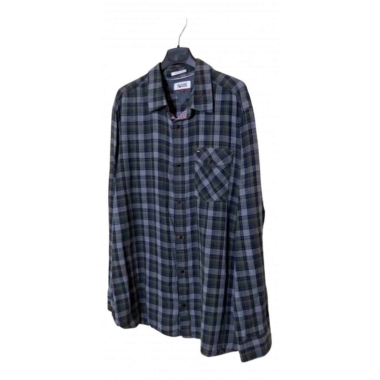 Tommy Hilfiger N Multicolour Cotton Shirts for Men XL International