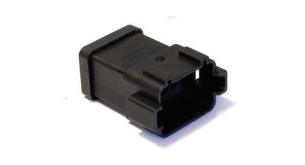 ITT Cannon , CTC Automotive Connector Socket 4 Row 24 Way, IP69K, Black