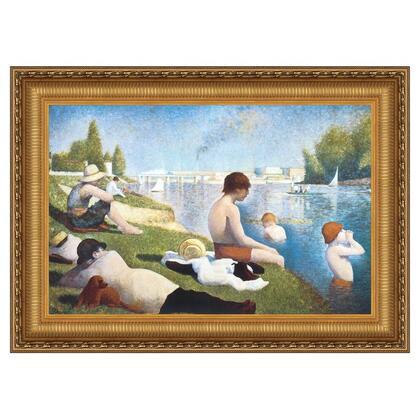 DA4513 41X27 Bathing At Asnieres 1883