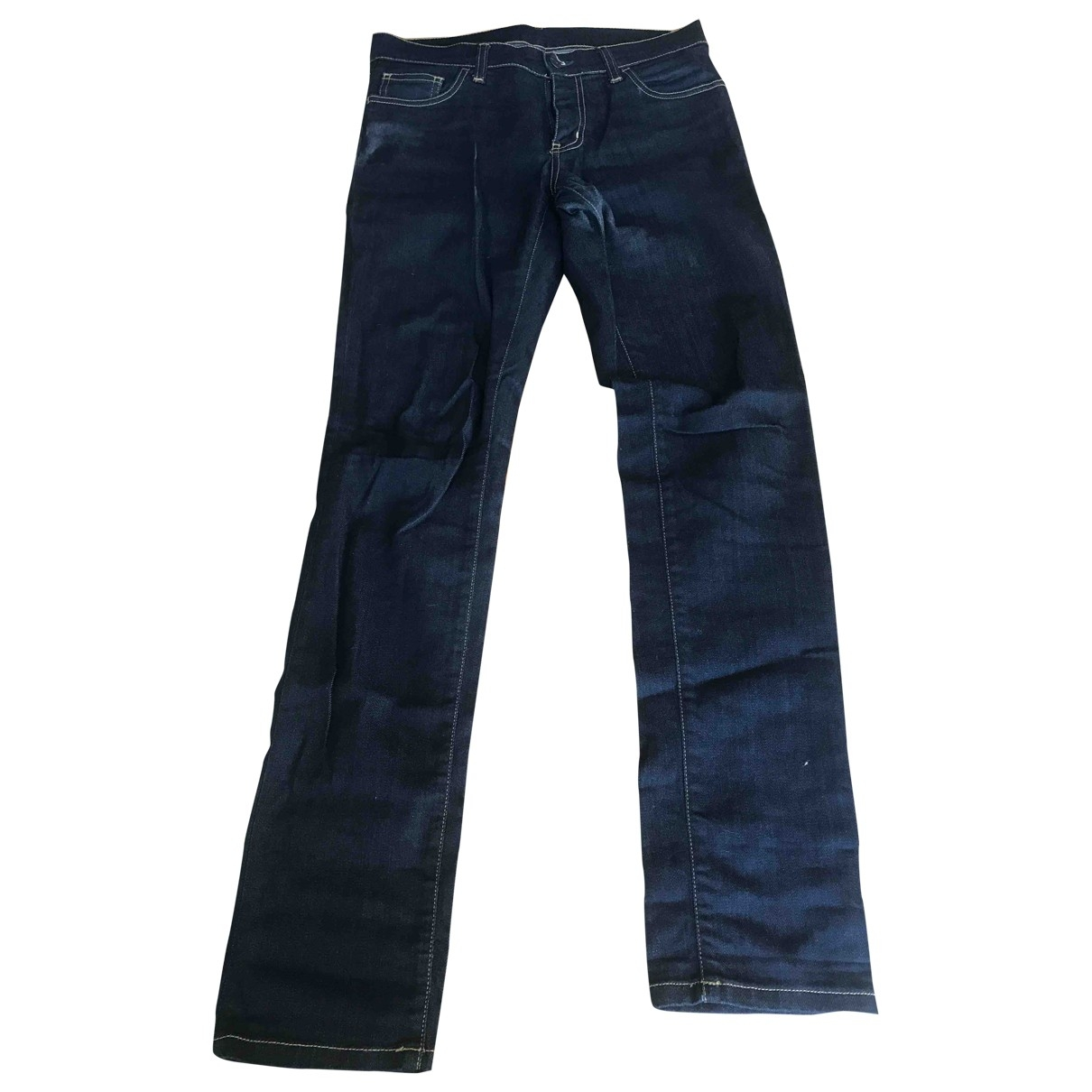 Carhartt Wip \N Blue Cotton - elasthane Jeans for Men 28 US
