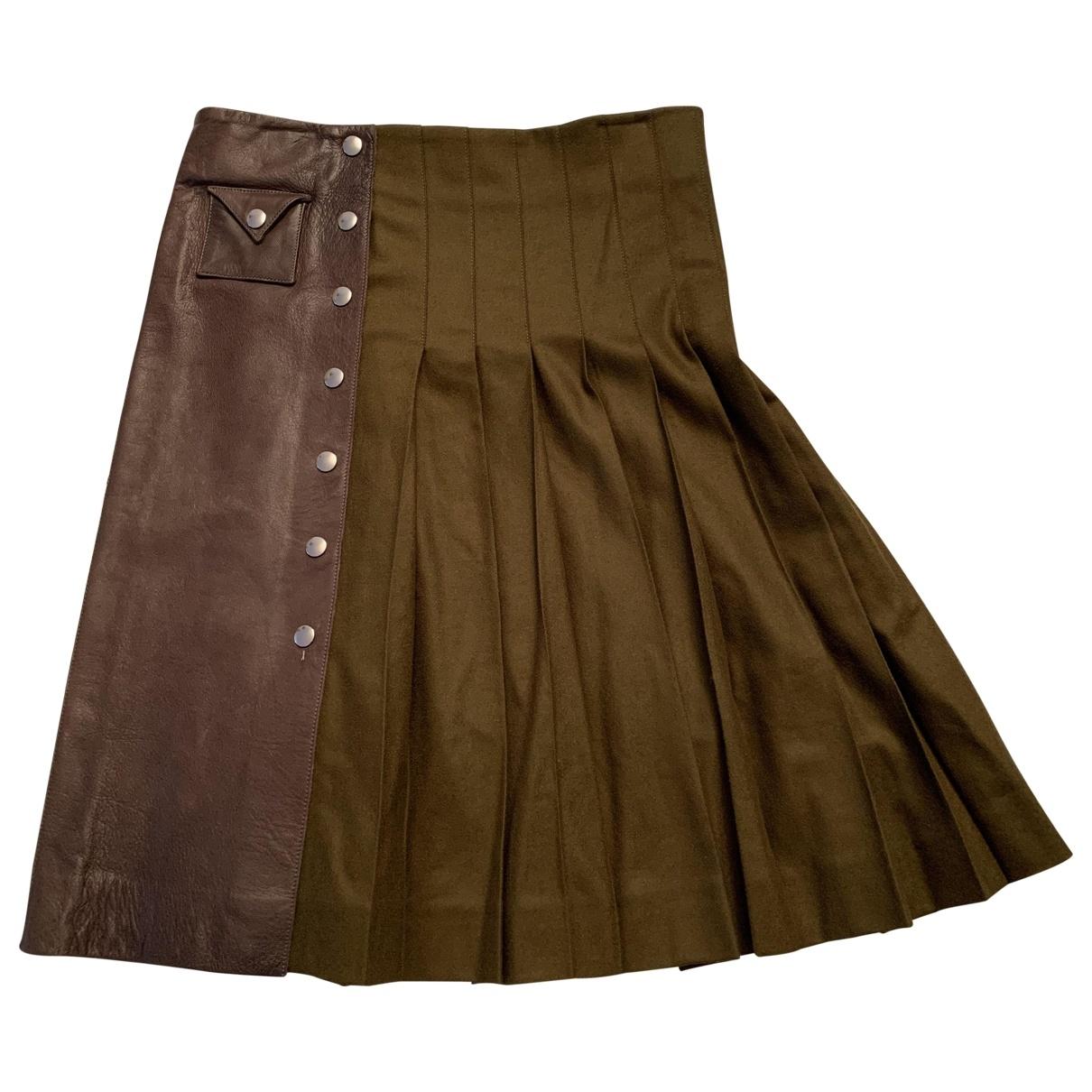 La Prestic Ouiston \N Brown Wool skirt for Women 1 0-5