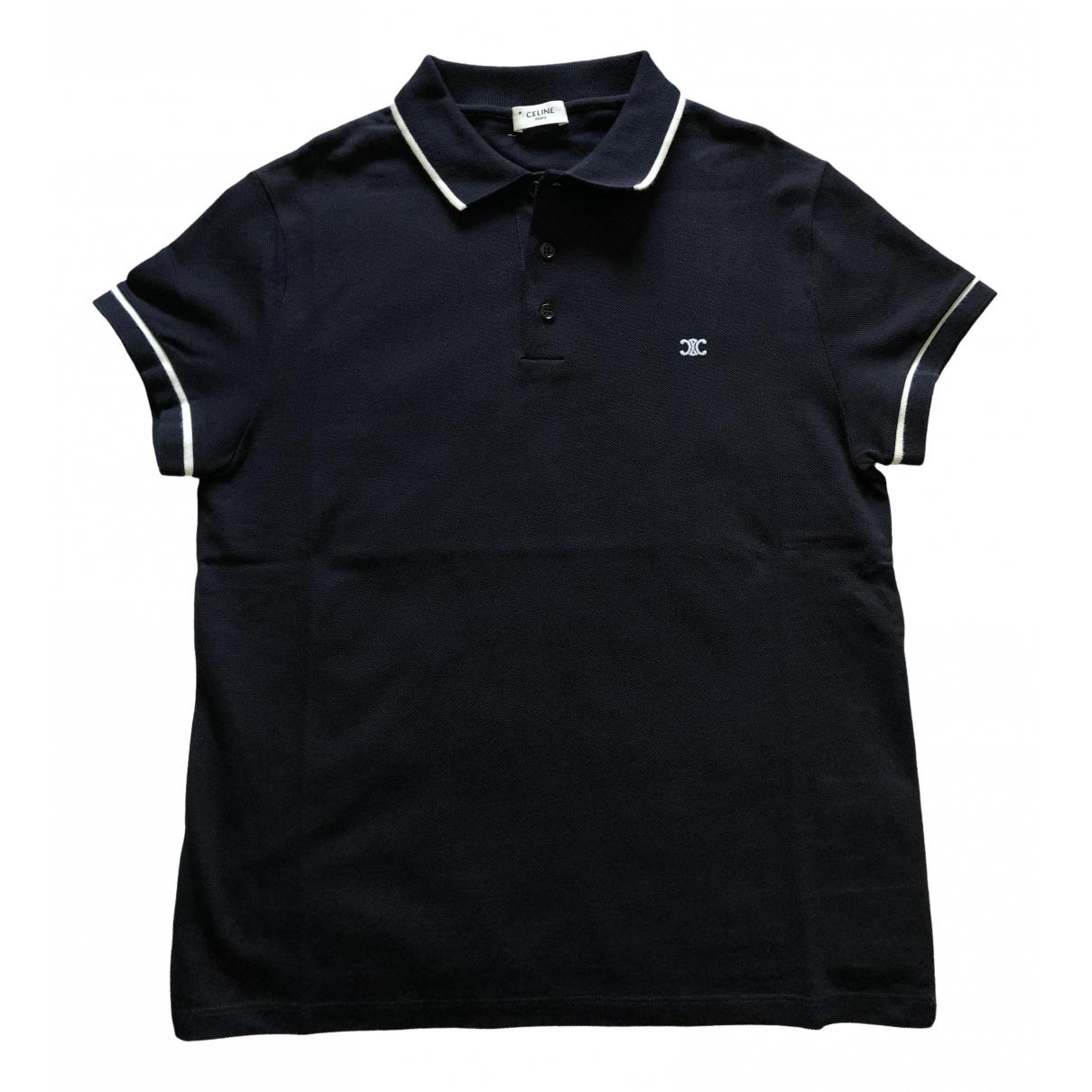 Celine - Polos   pour homme en coton - bleu