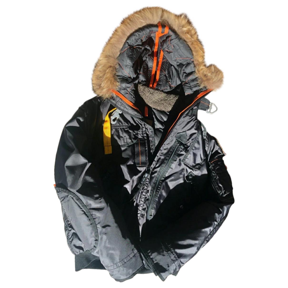 Parajumpers N Black Fur jacket  for Men XL International
