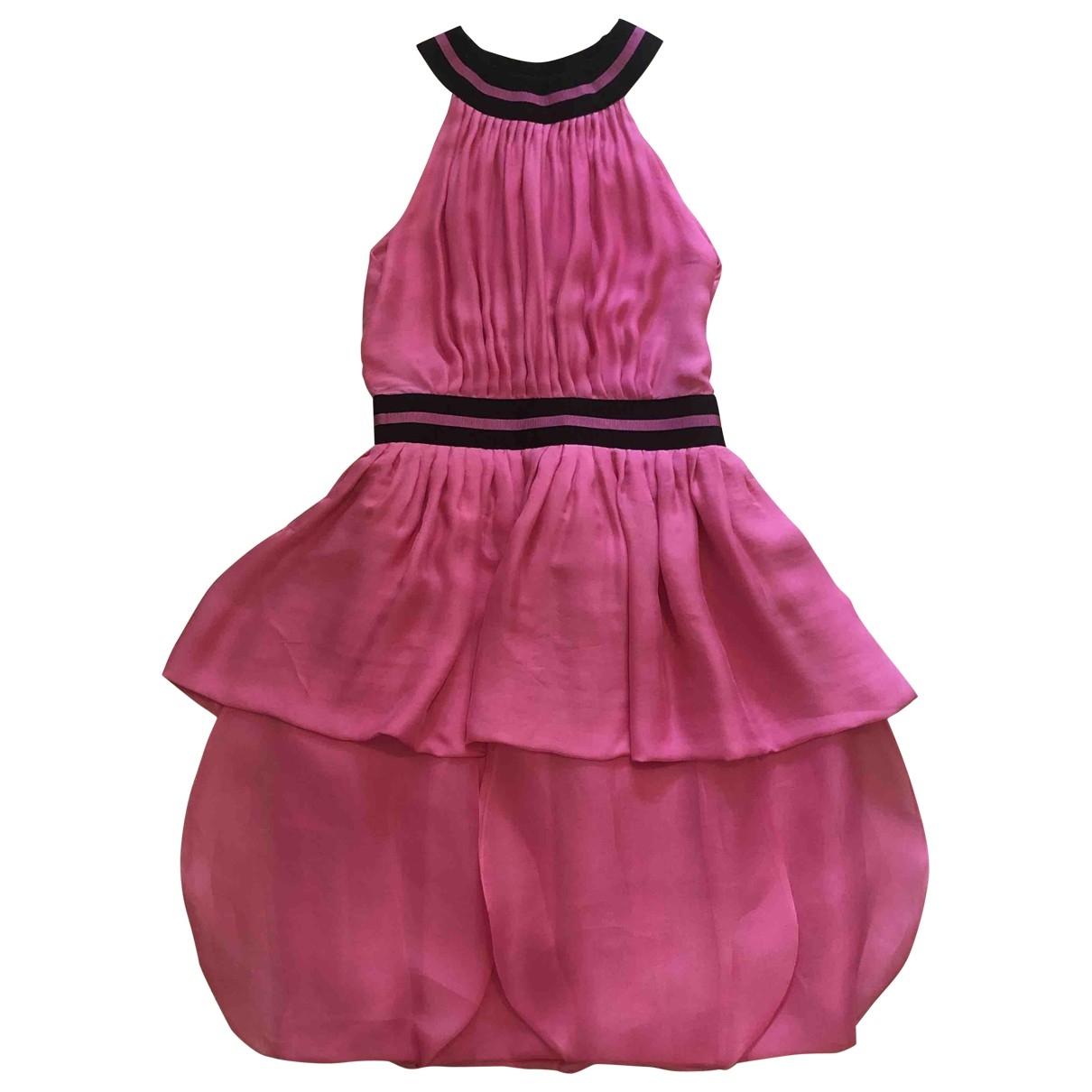 Giorgio Armani \N Pink Silk dress for Women 42 IT