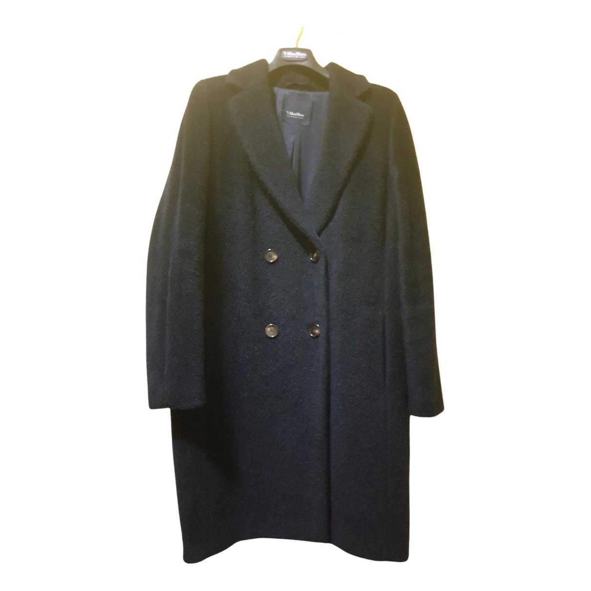 Max Mara s - Manteau   pour femme en laine - bleu