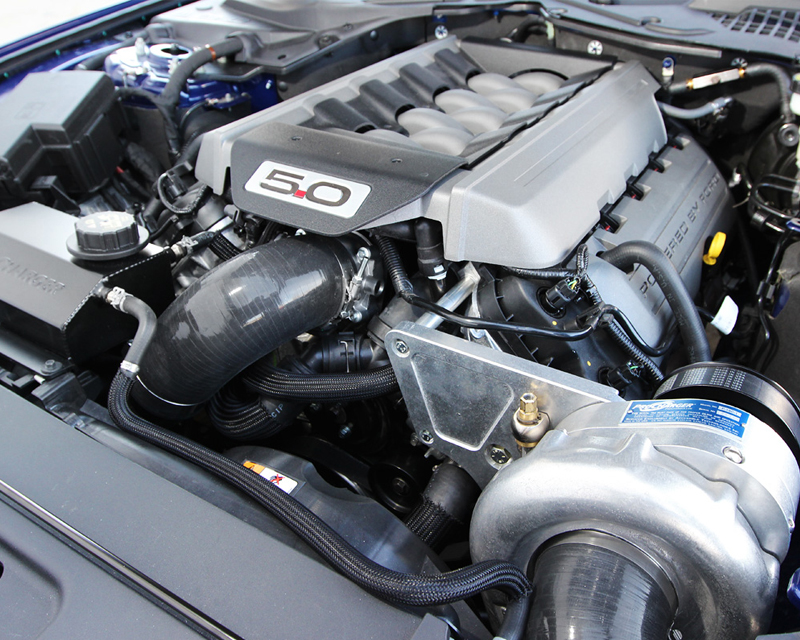 ProCharger Stage II Intercooled System with P-1SC-1 Ford Mustang GT 5.0L 4Valve 15-20