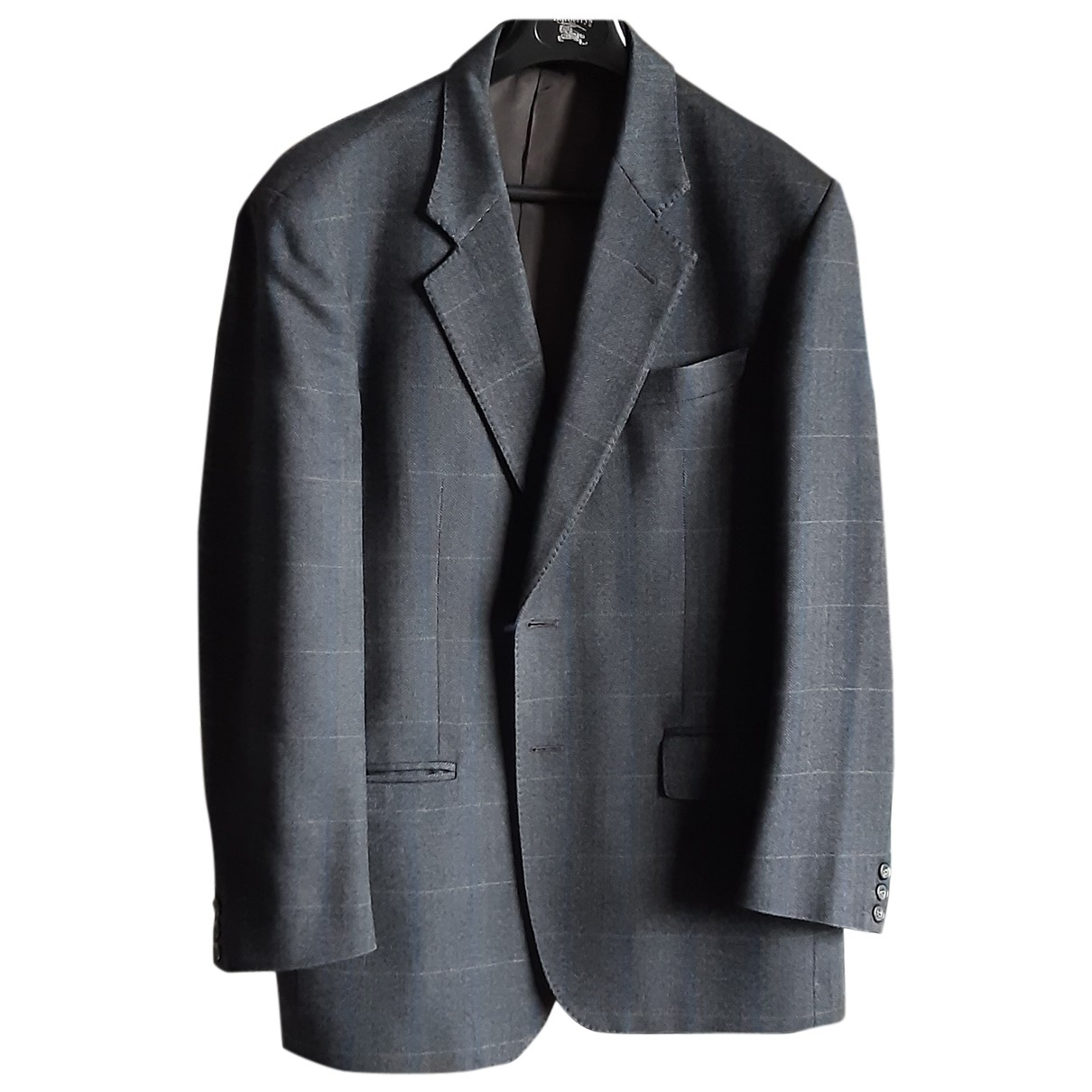 Autre Marque - Vestes.Blousons   pour homme en laine - gris