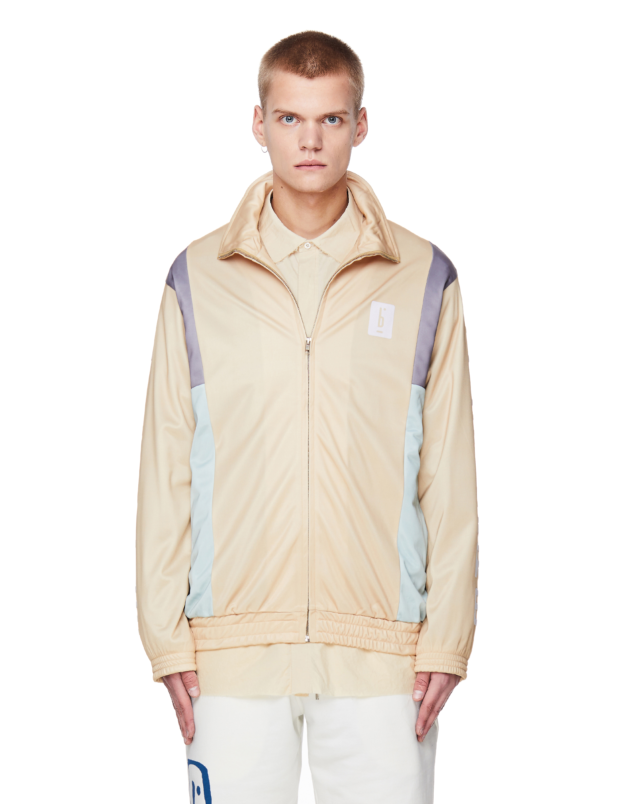 Pigalle Yellow Printed Track Jacket