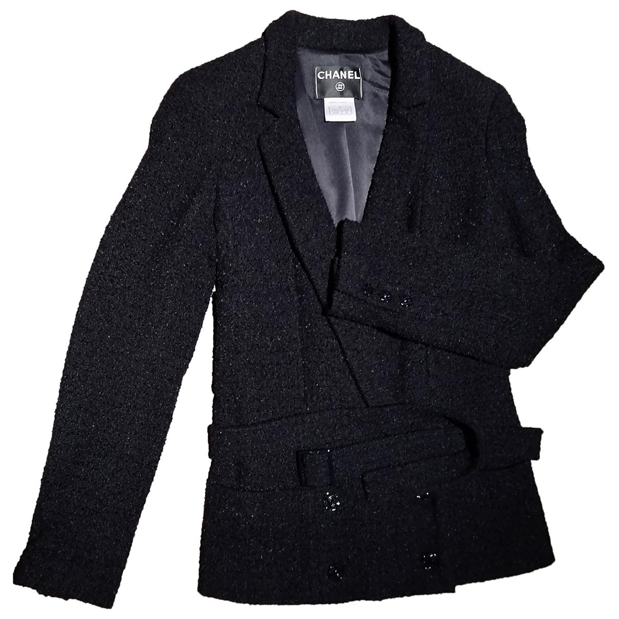 Chanel \N Black Wool jacket for Women 40 FR