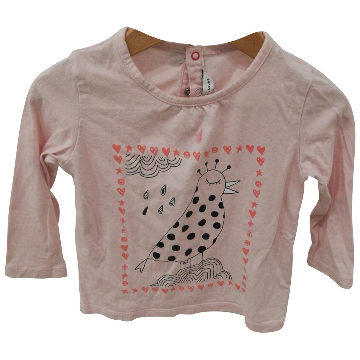 Marc Jacobs - Top   pour enfant en coton - rose
