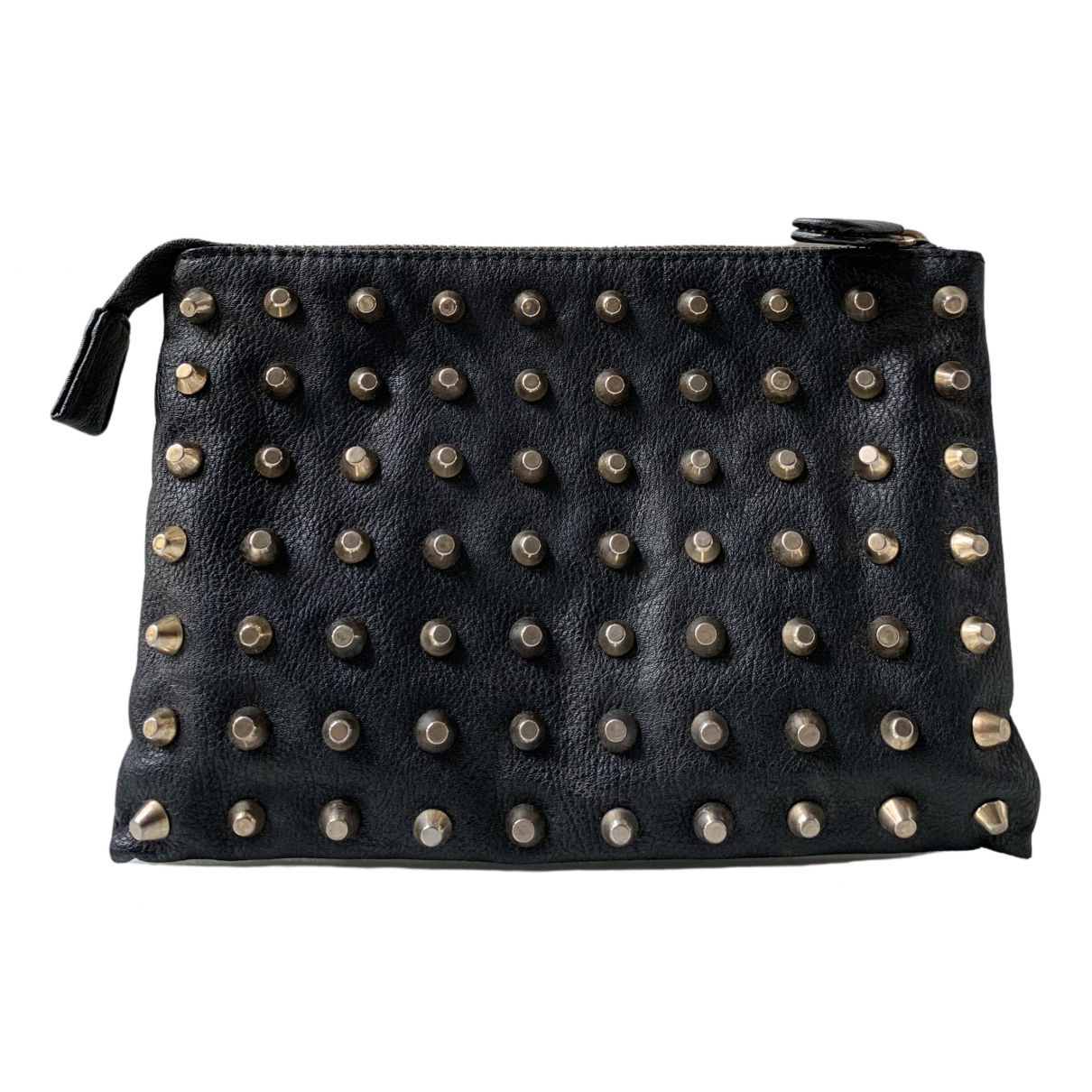 Zara \N Clutch in  Schwarz Synthetik