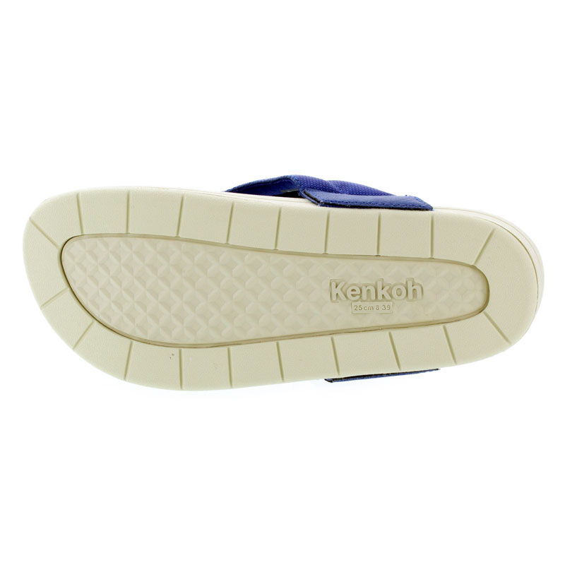 Kenkoh Spirit V Royal Blue Massage Sandal 27