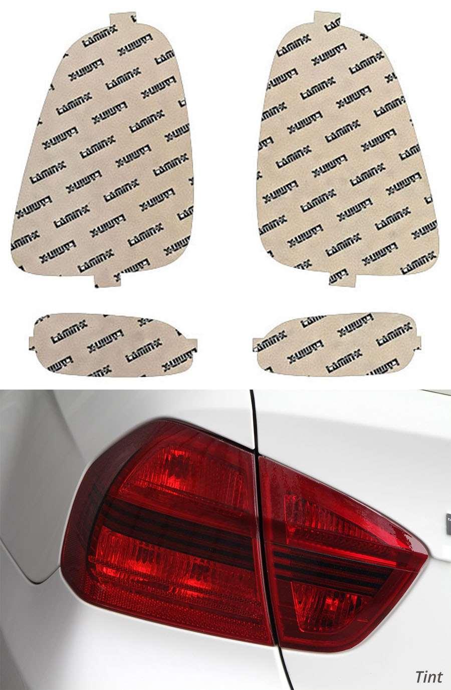 Mini Cooper S 07-10 Tint Tail Light Covers Lamin-X MN207-1T
