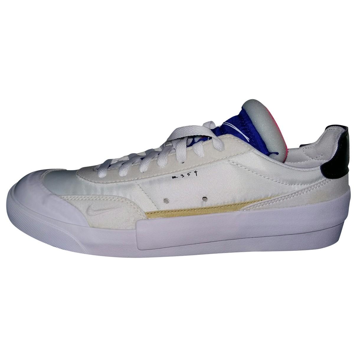 Nike - Baskets SB Dunk  pour homme en toile - blanc