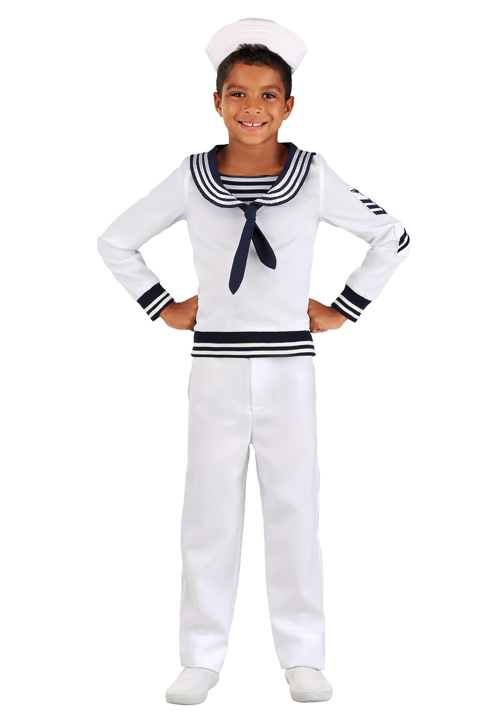 Deckhand Sailor Costume for Boys