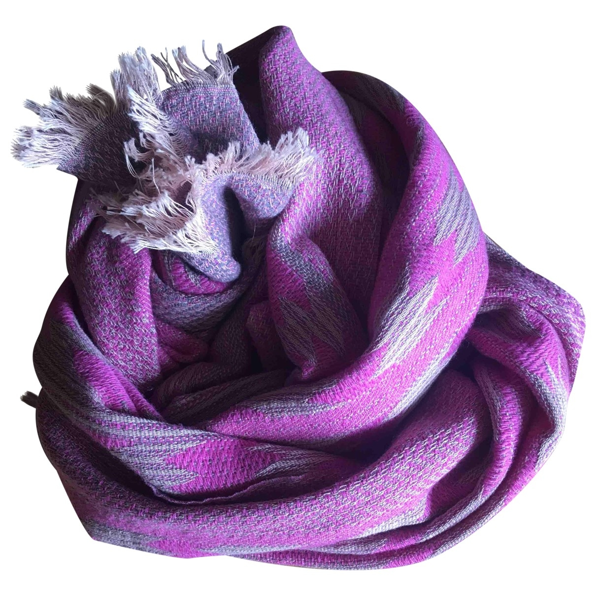 Beck Sonder Gaard \N Pink Wool scarf for Women \N
