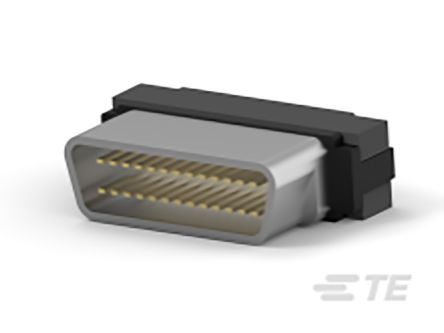 TE Connectivity , AMPLIMITE 0.50 Series 1.27mm Pitch 26 Way IDC D-sub Connector, Plug, Thermoplastic Shell
