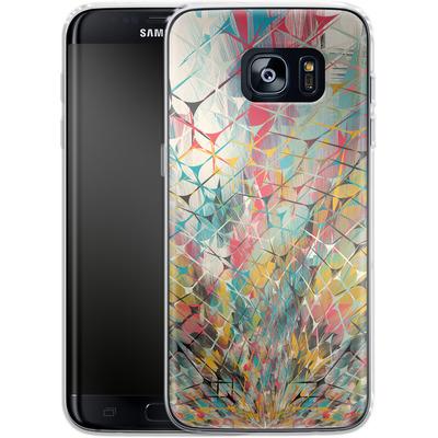 Samsung Galaxy S7 Edge Silikon Handyhuelle - Spider Explosion von Danny Ivan