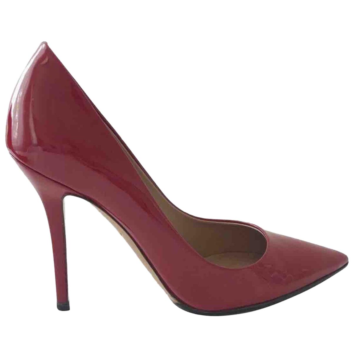 Salvatore Ferragamo \N Red Patent leather Heels for Women 37 EU