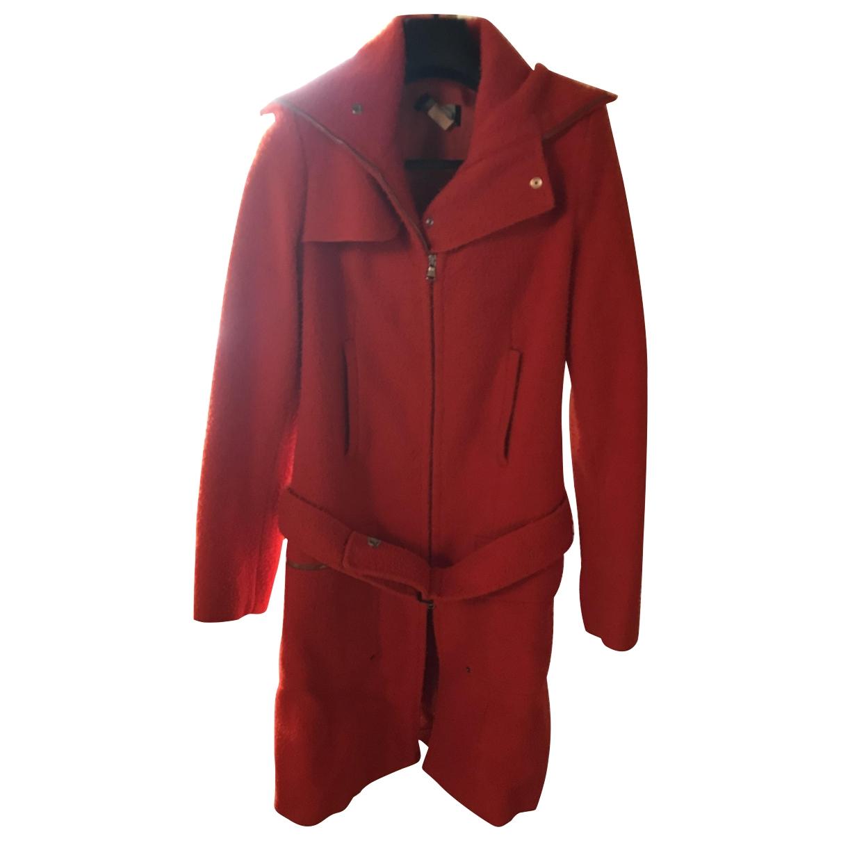 Patrizia Pepe - Manteau   pour femme en laine - orange