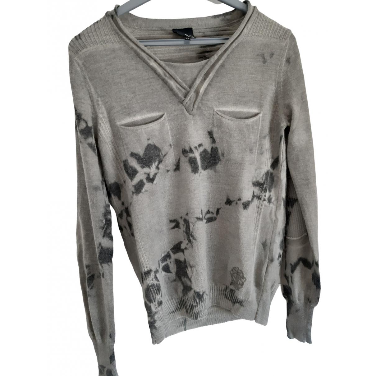 Just Cavalli - Pulls.Gilets.Sweats   pour homme en laine - gris
