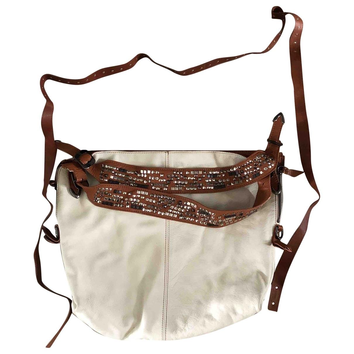 Russell & Bromley \N White Leather handbag for Women \N