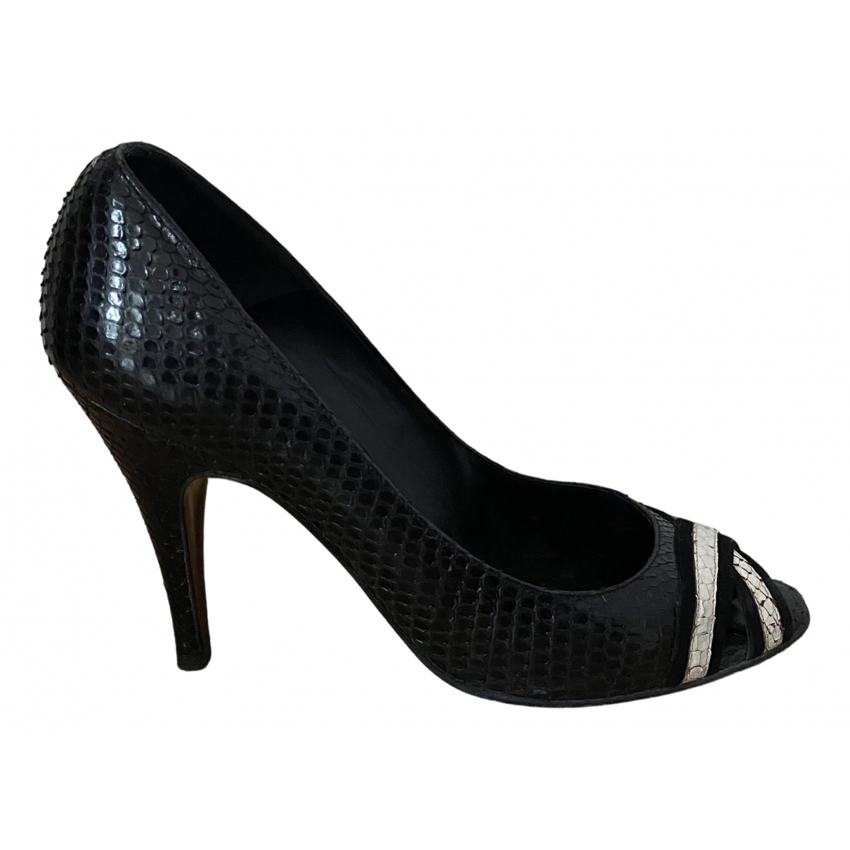 Chanel \N Pumps in  Schwarz Python