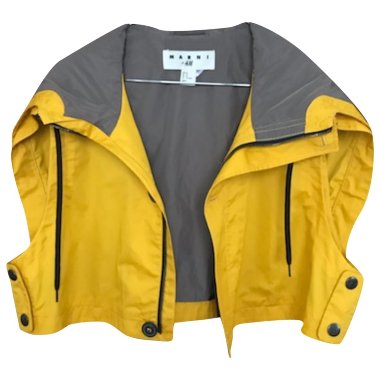 Marni For H&m - Vestes.Blousons   pour homme - jaune