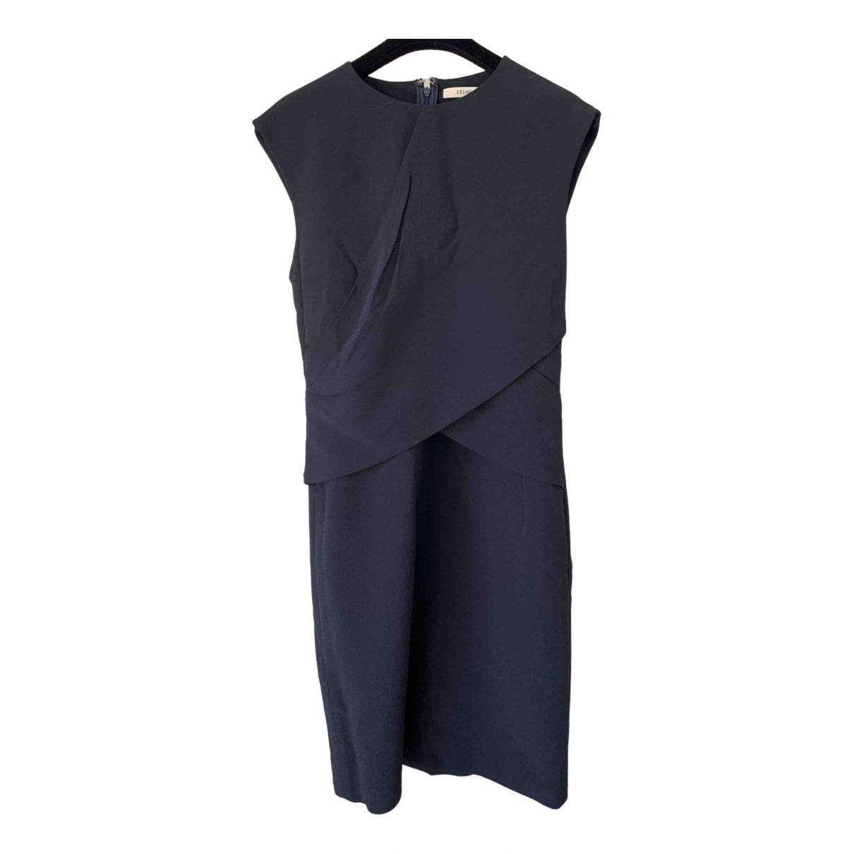 Celine \N Blue dress for Women 36 FR
