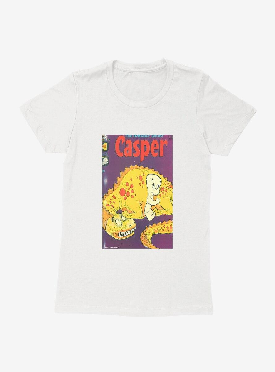 Casper The Friendly Ghost Passing Through Comic Cover Womens T-Shirt