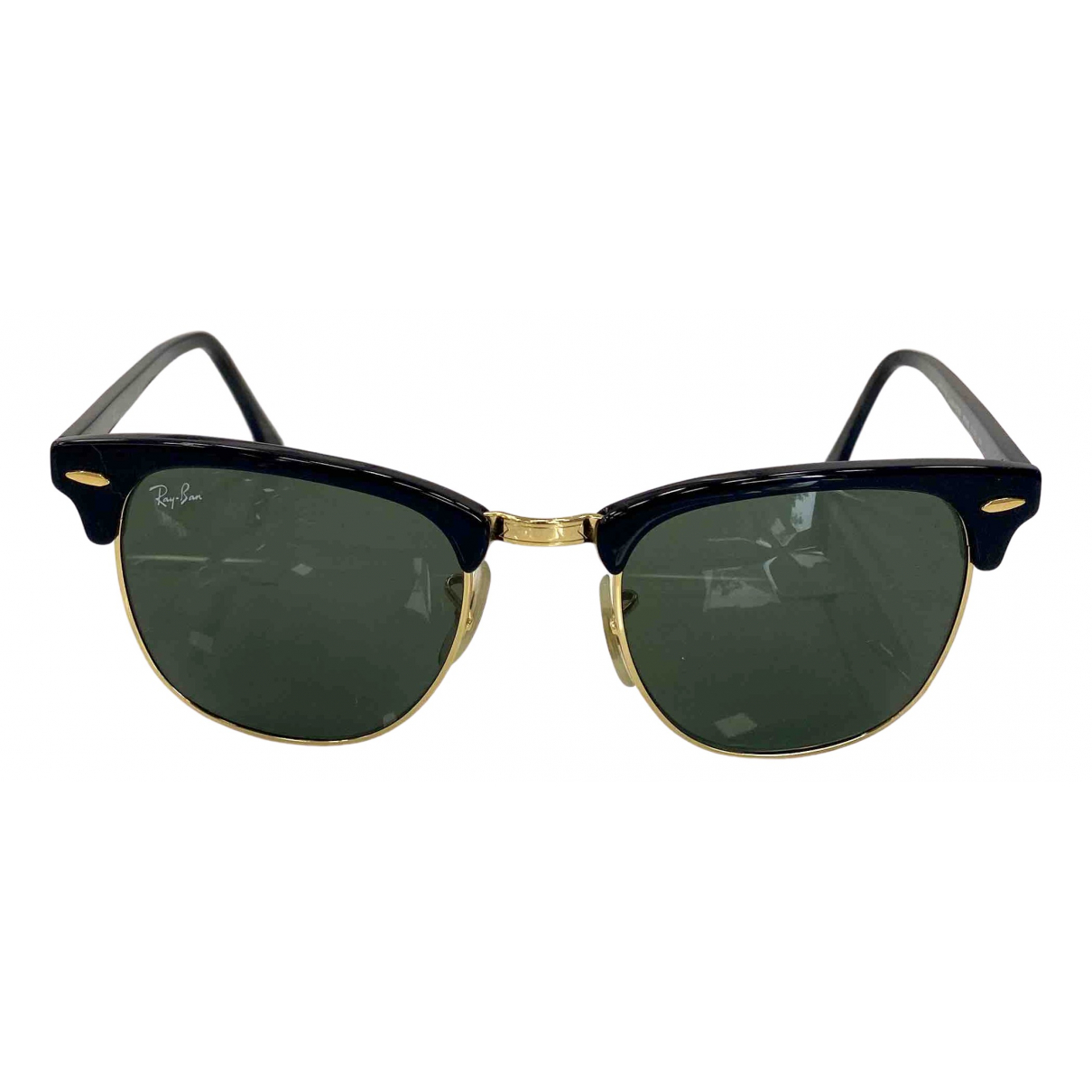 Ray-ban Clubmaster Black Metal Sunglasses for Women \N